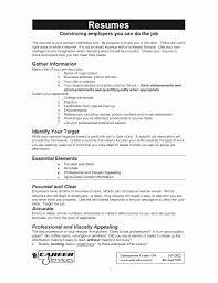 Sample Of American Resume Elegant Babysitter Job Description For Red Cross