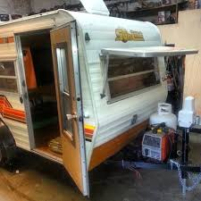 Vintage 1978 Sunline Micro Travel Trailer For Sale Sold