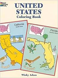 United States Coloring Book Dover History