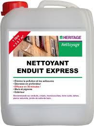 heritage nettoyant enduit express 5l fr bricolage