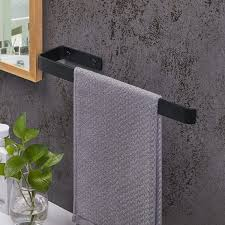 js handtuchhalter schwarz edelstahl bad handtuchhalter 38cm dusche handtuchhalter waschtisch unterschrank bad korpusmontage montage