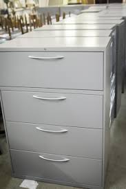 Hon 4 Drawer Lateral File Cabinet Used by Carroll U0027s Office Furniture Houston Texas