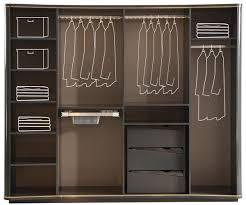 casa padrino luxus deco schlafzimmerschrank grau gold 265 x 67 x h 220 cm edler massivholz kleiderschrank mit 6 verspiegelten türen