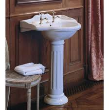 Toto Pedestal Sink Single Hole by Sinks Pedestal Bathroom Sinks Advance Plumbing And Heating