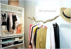 Decorative Metal Garment Rack by Diy Clothes Rack Diy Room Decor Misslizheart Youtube