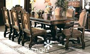 Dining Table Seat 12 Chair Seats Set Large Size