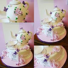 Teapot And Teacup Cake With Little