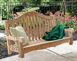 Smith And Hawken Teak Patio Chairs by Outdoor U0026 Garden Chain Hanging Teak Patio Furniture Bench For