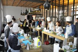 nouveau atelier de cuisine luxe design à la maison