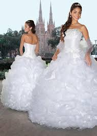 white ball gown strapless zipper full length pleated organza
