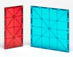 Picasso Magnetic Tiles 100 by Magna Tiles Cars 2 Piece Expansion Set Magnatiles