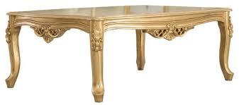 casa padrino luxus barock massivholz couchtisch gold handgefertigter wohnzimmertisch im barockstil barock wohnzimmer möbel