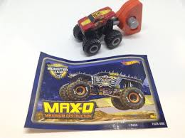 Julian's Hot Wheels Blog: Max-D (2017 Monster Jam Mini Mystery ...