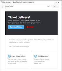 Can you scan my tickets from my iPhone iPad Xorbia Tickets