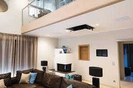 beamer casaio smart buildings moderne wohnzimmer homify