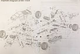 Hsp Truck Exploded Diagram | Wiring Diagram
