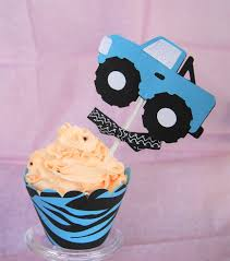 4X4 Monster Truck Cupcake Toppers Set Of By LillabugsPartyPlace ... Personalised Monster Truck Edible Icing Birthday Party Cake Topper Buy 24 Truck Tractor Cupcake Toppers Red Fox Tail Tm Online At Low Monster Trucks Cookie Cnection Grave Digger Free Printable Sugpartiesla Blaze Cake Dzee Designs Jam Crissas Corner Cake Topper Birthday Edible Printed 4x4 Set Of By Lilbugspartyplace 12 Personalized Grace Giggles And Glue Image This Started
