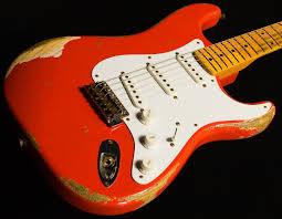 Fender Custom Shop 60th Anniversary 1954 Stratocaster Heavy Relic O SN XN1427