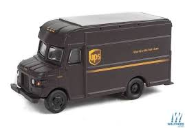 100 Ups Truck Toy Walthers SceneMaster HO 94914001 UPS Delivery UPS Modern Shield Logo