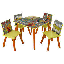 Crayola Wooden Table And Chair Set Uk by Children U0027s Table And Chair Sets Ebay