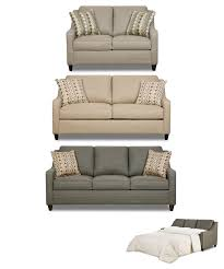 Nolana Charcoal Sofa Set by Darvin Furniture Orland Park Chicago Il