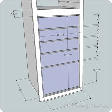 Sewing Cabinet Plans Build by I U0027m Building Again Linen Cabinet