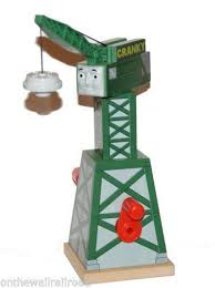 Tidmouth Shed Deluxe Set by Cranky The Crane Games Toys U0026 Train Sets Ebay