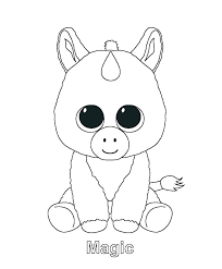 Printable Unicorn Coloring Pages Page