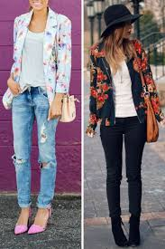 Floral Jackets Outfits 2018 1