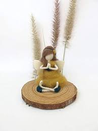 104 Eco Home Studio Buy Yoga Meditation Accessories For Women Men Kids Handmade Gift Idea For Christmas Birthday Wedding Doll Fairy Room Decoration For Yoga Soft Sculpture Collectible Waldorf Toy Inspired Online In