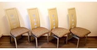 4 esszimmer stühle beige creme braun in 44532 lünen für