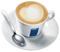 Lavazza Blue Porcelain Latte Size Cups Set Of 6