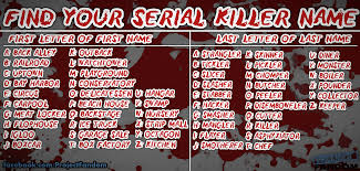 100 Dexter The Ice Truck Killer Find Your Serial Name Project Fandom
