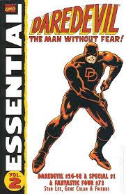 Essential Daredevil TPB 2002 2013 Marvel 1st Edition 2 1ST