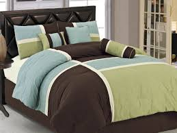 Black Leather Headboard Double by Amazon Cheap Full Comforter Sets For Couple With Blue Green And