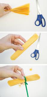 Simple DIY Paper Marigolds For Dia De Los Muertos