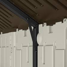 Suncast Tremont Shed Assembly by Suncast 8 U0027 X 4 U0027 Storage Shed Bj U0027s Wholesale Club