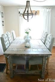 Dining Room Table Farmhouse Coastal Style Sets