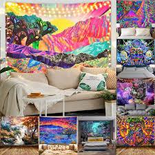 2020 neue heiße mode psychedlic montieren mandala tapisserie hippie zimmer wand hängen decke print home decor