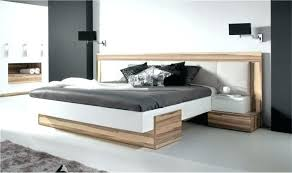 deco design chambre chambre adultes design lit design en bois white moderne 2