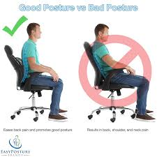 Easy Posture Lumbar Back Support Mesh (Black Mesh, 1PC) 4 Noteworthy Features Of Ergonomic Office Chairs By The 9 Best Lumbar Support Pillows 2019 Chair For Neck Pain Back And Home Design Ideas For May Buyers Guide Reviews Dental To Prevent Or Manage Shoulder And Neck Pain Conthou Car Pillow Memory Foam Cervical Relief With Extender Strap Seat Recliner Pin Erlangfahresi On Desk Office Design Chair Kneeling Defy Desk Kb A Human Eeering With 30 Improb