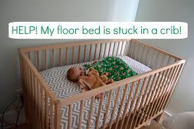A Montessori Floor Bed And Baby Sleep Problems — CanDo Kiddo