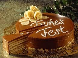 baumkuchen torte mit schokolade