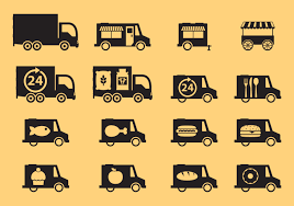 Food Trucks Icons - Download Free Vector Art, Stock Graphics & Images