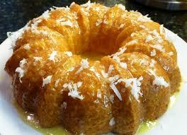 dessert ananas noix de coco gâteau à l ananas et à la noix de coco recette illustrée simple