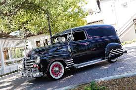 100 1952 Chevy Panel Truck 1948 Chevrolet Stopping Traffic