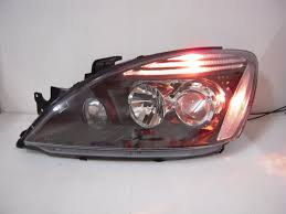 lancer cedia ch es ls 2003 2004 2007 projector headlight black for