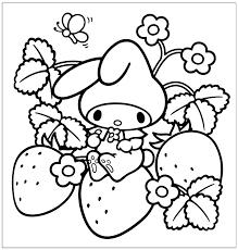Kawaii Animal Coloring Pages At Getcolorings Printable