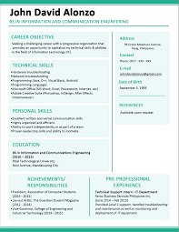 Resume Objective For Information Technology Graduate Valid Sample Fresh