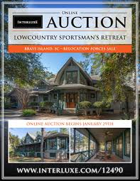 100 Brays Island Sc Online Auction Lowcountry Sportsmans Retreat SC
